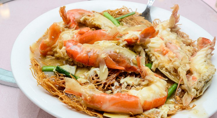 Fresh Water Prawn at Green View Restaurant Petaling Jaya