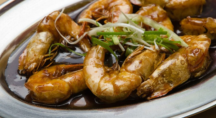 Assam Prawn at Ah Chui Seafood Restaurant Terubong Ayer Itam Penang
