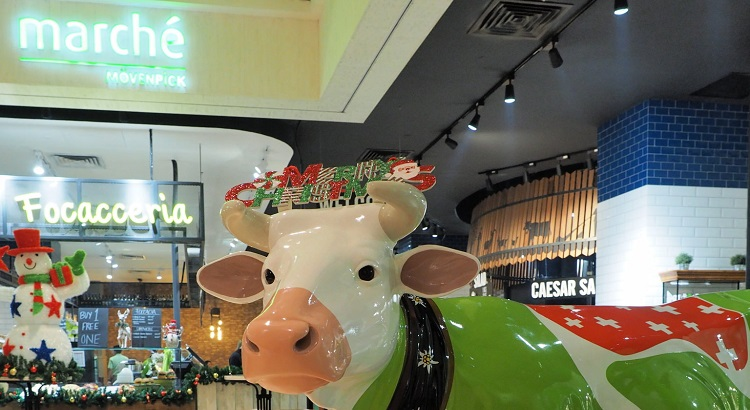 Cow at Marché Mövenpick Pavilion Kuala Lumpur