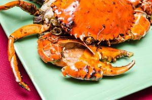 Seremban Baked Crab (芙蓉烧蟹) at Kedai Makanan Seremban / Seremban Seafood Village (芙蓉烧蟹海鲜村)